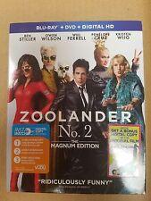 Zoolander 2 (Blu-ray/DVD, 2016, 2-Disc Set, Includes Digital Copy) BONUS DIGITAL