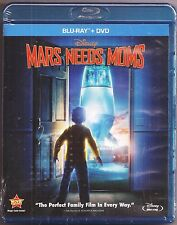 Disney Mars Needs Moms Blu-ray + DVD Movie 2-Disc Combo Pack BRAND NEW