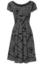 Businesskleid Damenkleid Prinzesskleid von Ashley Brooke Gr.44 schwarz Neu
