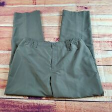 Field & Stream Pants Men's Size Large Carpenter Brown Green Pockets