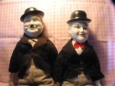 Porcelain Laural & Hardy Dolls