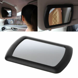 Automotive Car Sun Visor Clip On Mirror Makeup Sun-Shading Cosmetic Black Mirror