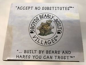 """NEW IN BOX - 2000 Boyds Villages """"Boyds Town Depot Bearsylvania Station"""" # 19018"""