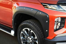Mitsubishi L200 Series 6 Wheel Arch Extensions - Matte Black Bolt On Style 2019+