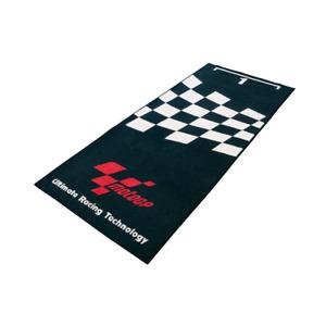 MotoGP Racing Black Motorcycle Garage Mat (1.9m x 0.80m)