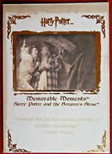 HARRY POTTER - MEMORABLE MOMENTS #1 - Card #13 - DRY UP DURSLEY, YOU GREAT PRUNE