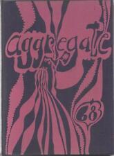 1968 DANBURY HIGH SCHOOL YEARBOOK, AGGREGATE, DANBURY, CONNECTICUT