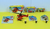 LEGO Classic Town Fire Bundle Job Lot 6611 6621 6685 with Box and Instructions