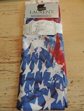 Sox Trot Knee Hi Ladies Boot Socks Pair Stretchy Breathable Star Spangled Banner