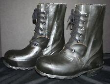 VTG Men's U.S. Navy Rain Galoshes Work Boots Size 5W BRISTOLITE NM  Waterproof