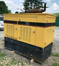 Cat Olympian 20 Kw Diesel Generator Set With634 Hours 55 Gal Tank Withenclosure