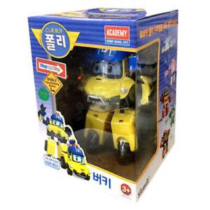 Robocar Poli Bucky Robot Transformer Car Toy Figure Action Korean TV