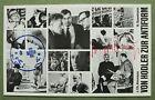 signed Joseph BEUYS + HAUPTSTROM stamp, 1970: card  'Von Hodler zur Antiform'