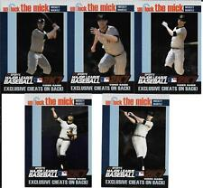 MICKEY MANTLE 2007 TOPPS UNLOCK THE MICK COMPLETE (5) CARD SET NEW YORK YANKEES