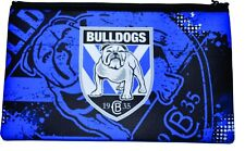 BULLDOGS  NRL Large Neoprene Team  Logo Pencil Case -  NEW 2018
