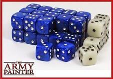 Army Painter Dice D6 14mm 36 Die Set Blue/White 30 Blue 6 White TAP TL5020