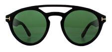 Tom Ford Clint ft0537 Sonnenbrille Glänzend Schwarz 01n grün 50mm
