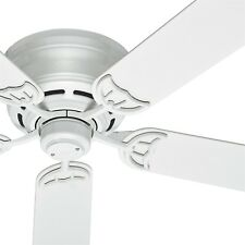 Hunter Fan 52 inch Low Profile White Ceiling Fan