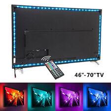 5050SMD RGB USB LED Lichtstreifen Strips TV-Hintergrundbeleuchtung Fernbedienung