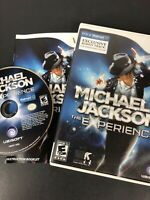 Michael Jackson: The Experience (Wii, 2010) *Complete/Tested