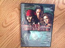 Pirates of the Caribbean: DEAD MAN'S CHEST Movie DVD 2006 Widescreen