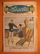 LISETTE N° 49 du 03/12/1933 -3ème année -éditions de Montsouris