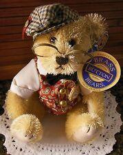"Brass Button Bear ""Bentley, The Bear of Wealth"" Legendary Collection 2004"