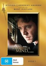 A Beautiful Mind (Russell Crowe) DVD R4 *NEW & SEALED* Free Shipping