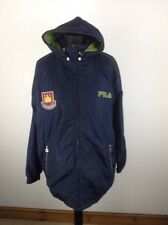Homme Fila West Ham United Veste Taille L STOCK No.A649