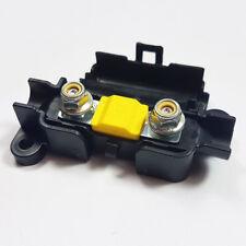 2 x 60 Amp Midi FUSIBILE Giallo + MIDI/striscia di collegamento scatola portafusibili AUTO 60 A