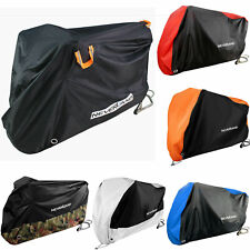 M-XXXL Motorcycle Cover Motorbike Cruiser Scooter Motor Bike Waterproof Storage