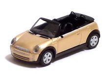 HERPA - MINI CABRIO - ORO MET. METALLIZED GOLD - Scala 1:87