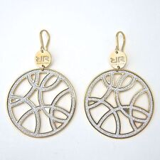 Rebecca Rose Gold Circle Earrings, Large