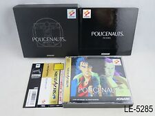 Policenauts Sega Saturn Limited Edition w/book Japanese Import SS LE US Seller B