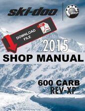 Ski-Doo 2015 Rev-Xp 600 Carb Snowmobile Service Manual