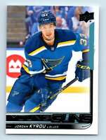 2018-19 Upper Deck Young Guns Jordan Kyrou RC #241