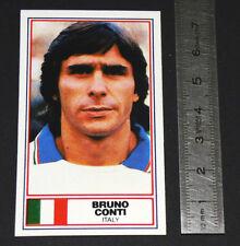 FOOTBALL 1983-1984 BRUNO CONTI ITALIA CALCIO AS ROMA GIALLOROSSI GENOA PANINI