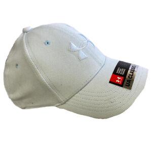 Under Armour Blitzing Cap Ladies Light Blue Stretch Fit Running Hat S/M