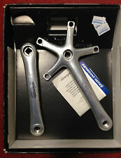 Guarnitura Campagnolo Record bike crankset 172.5 10s velocità made in Italy