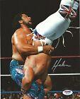 King Haku Signed WWE 8x10 Photo PSA/DNA COA WCW WWF The Islanders Picture Auto'd