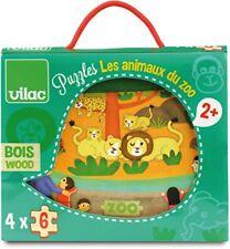 Vilac - 2642 - Puzzles les Animaux du zoo - 24 Pi?ces