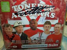 World cup song cd 2006 signed by Geoff Hurst Martin Peters and Frank Bruno
