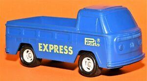 Vintage Plasto Finland Model Volkswagen Pickup T2 Plasto EXPRESS ( blue )
