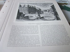 Nürnberg Archiv 1 Stadtbild 1049 Museumsbrücke 1700 J.A. Graf/U. Krauss
