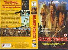 Silent Tongue, Richard Harris Video Promo Sample Sleeve/Cover #13832