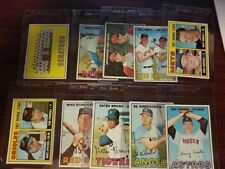 10 CARD 1967 Topps  LOT NR-MINT  ALL SCANNED