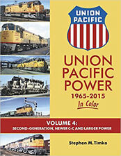 Union Pacific Power In Color Vol 4: 2nd-Generation and Newer C-C & Larger Power