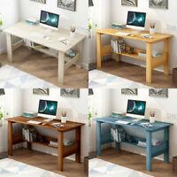 Computer Desk PC Laptop Table Study Workstation Wood Home Office w/ Shelf