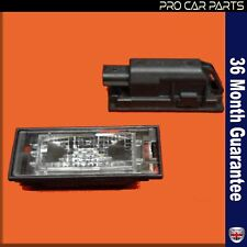 Plate Light Lamp fits RENAULT MEGANE - SCENIC - CLIO - LAGUNA MK2
