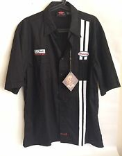 Fender Highway One Mechanics Shirt Sz XL Black 100% Cotton BNWT